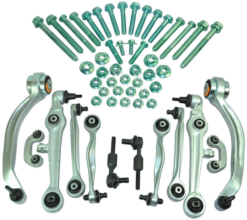 Front Wishbone Track Control Arms Kit (20 Mm) For Audi/Vw/Seat/Skoda-D2P Autoparts