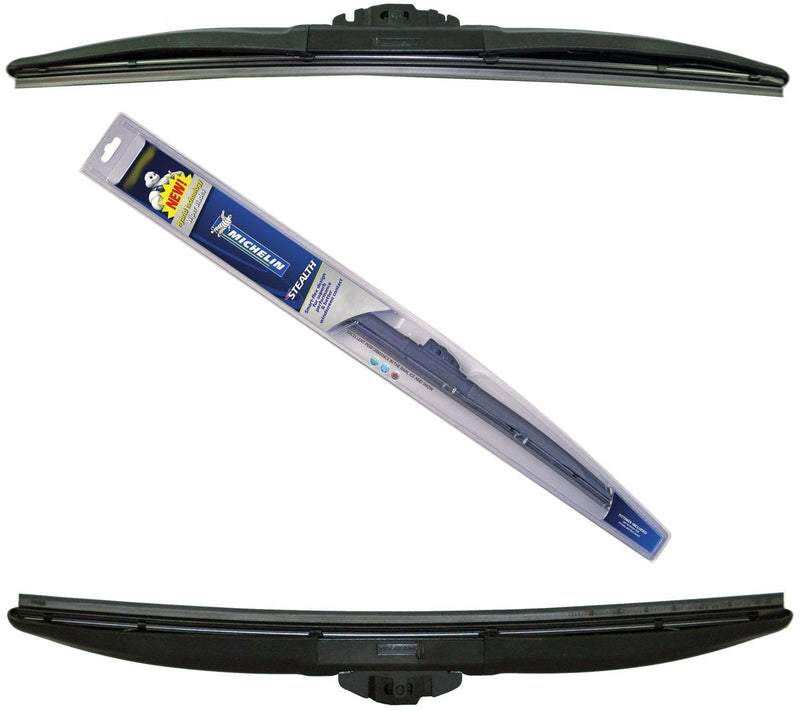 Genuine Michelin Stealth Hybrid Front Wiper Blades Pair Of 18″/ 450 Mm + 22″/ 560 Mm-D2P Autoparts