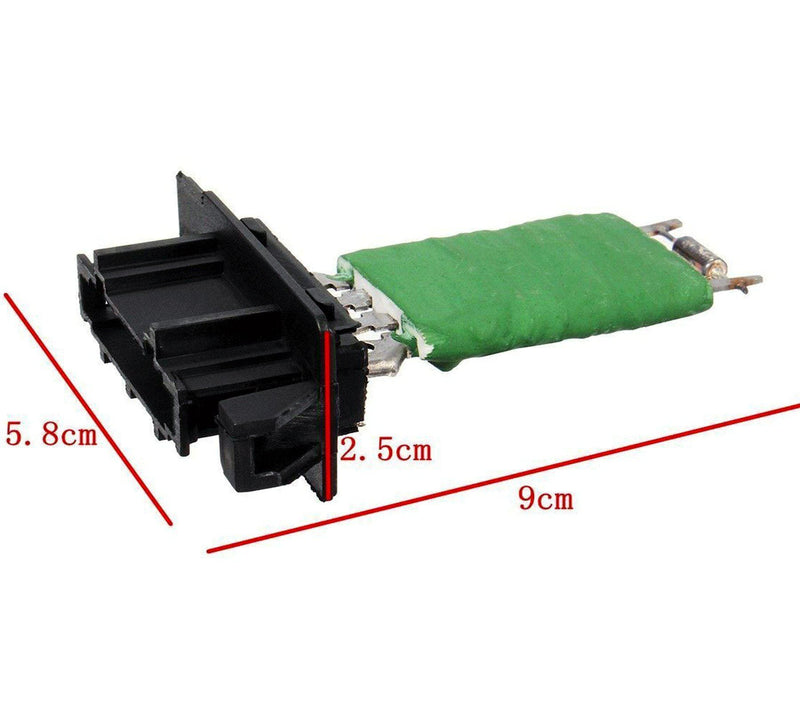 Heater Blower Fan Motor Resistor (4 Pins) For Mercedes/Vw-D2P Autoparts