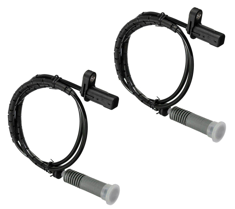 Pair Of Rear Wheel Abs Speed Sensor (Left & Right) For Bmw-D2P Autoparts