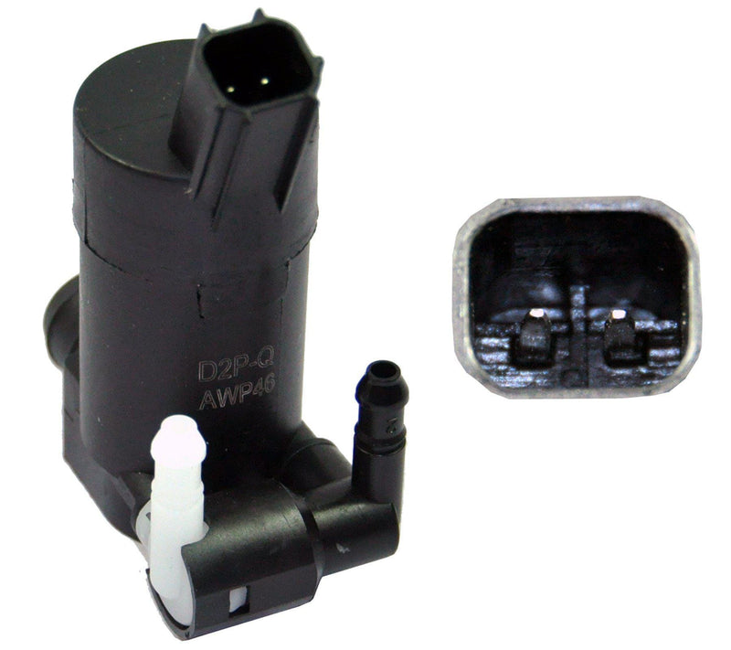 Twin Outlet Windscreen Washer Pump For Citroen/Ford/Volvo-D2P Autoparts