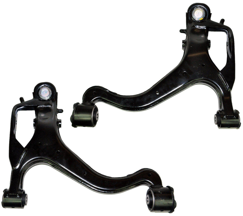 Wishbone Control Arms Pair (Front Left & Right Sides) For Land Rover-D2P Autoparts