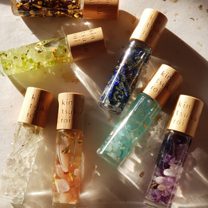Crystal Essential Oil Roller Bundles