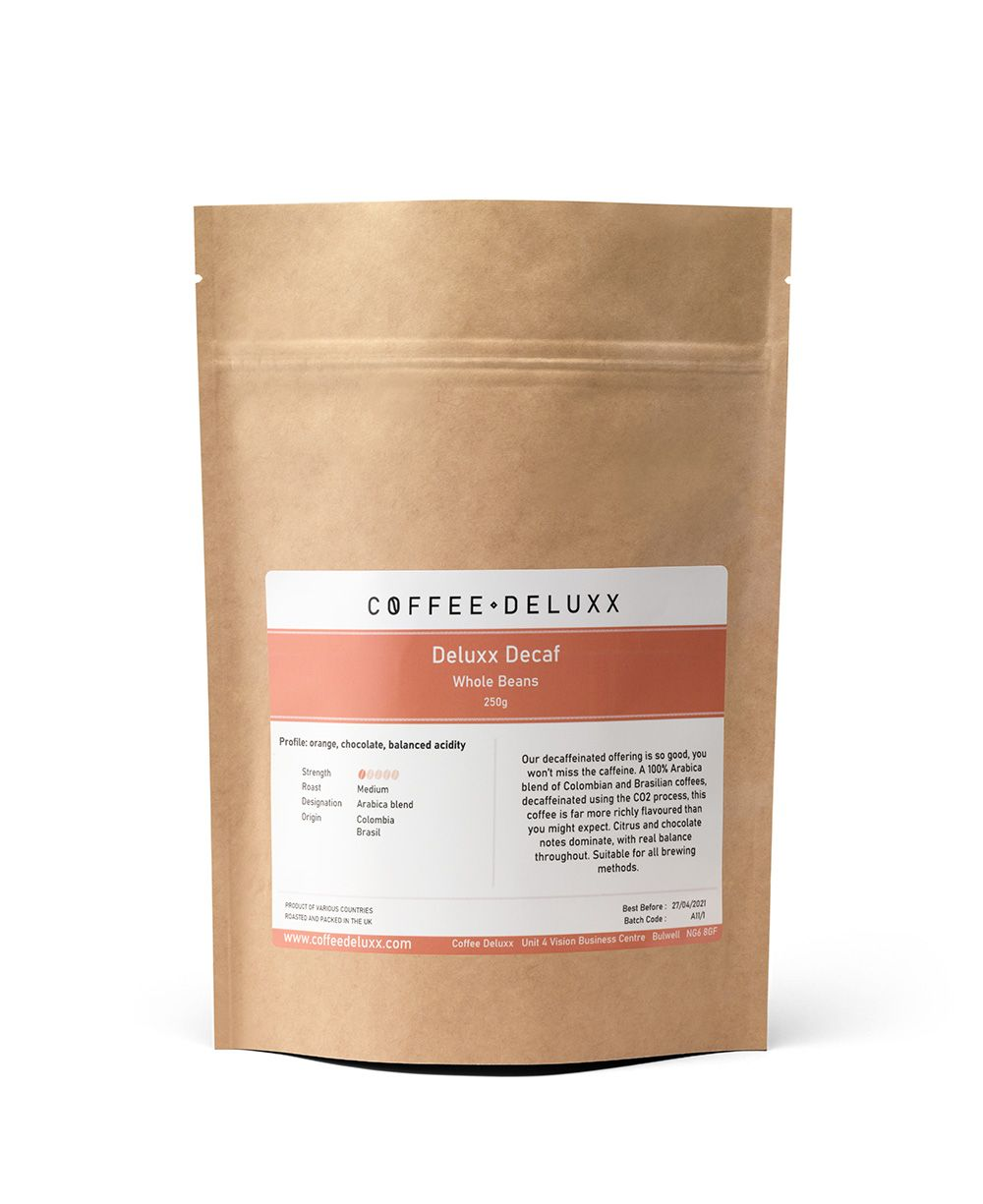 Deluxx Decaf (Hints of Chocolate Orange)