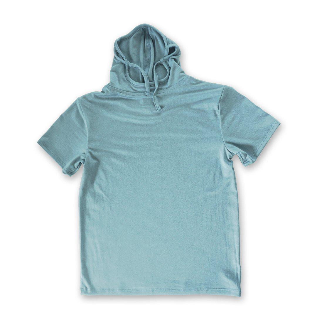 Kids Short Sleeve USA Light Blue Shmask™