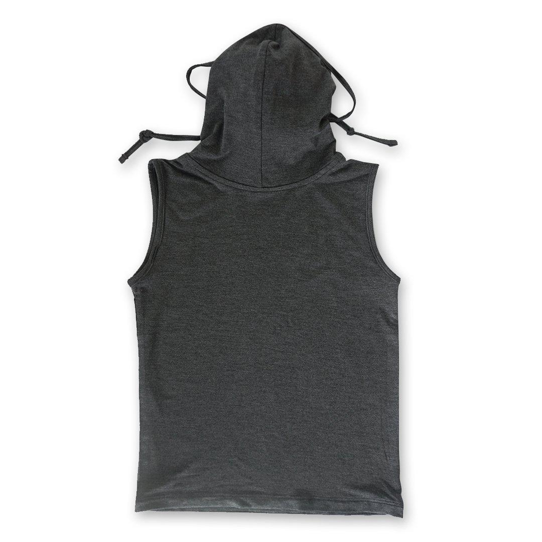 Kids Sleeveless Dark Heather Gray Shmask™