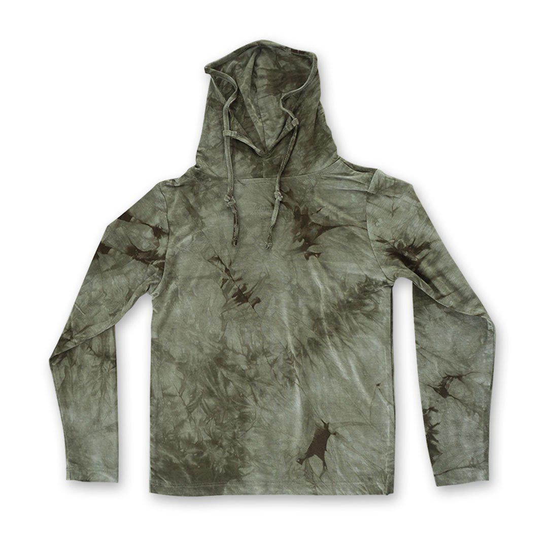 Kids Long Sleeve Army Green Shmask™