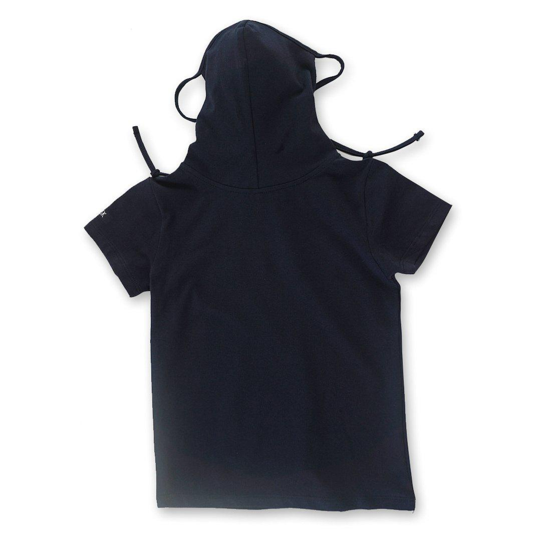 Kids Short Sleeve Navy Shmask™