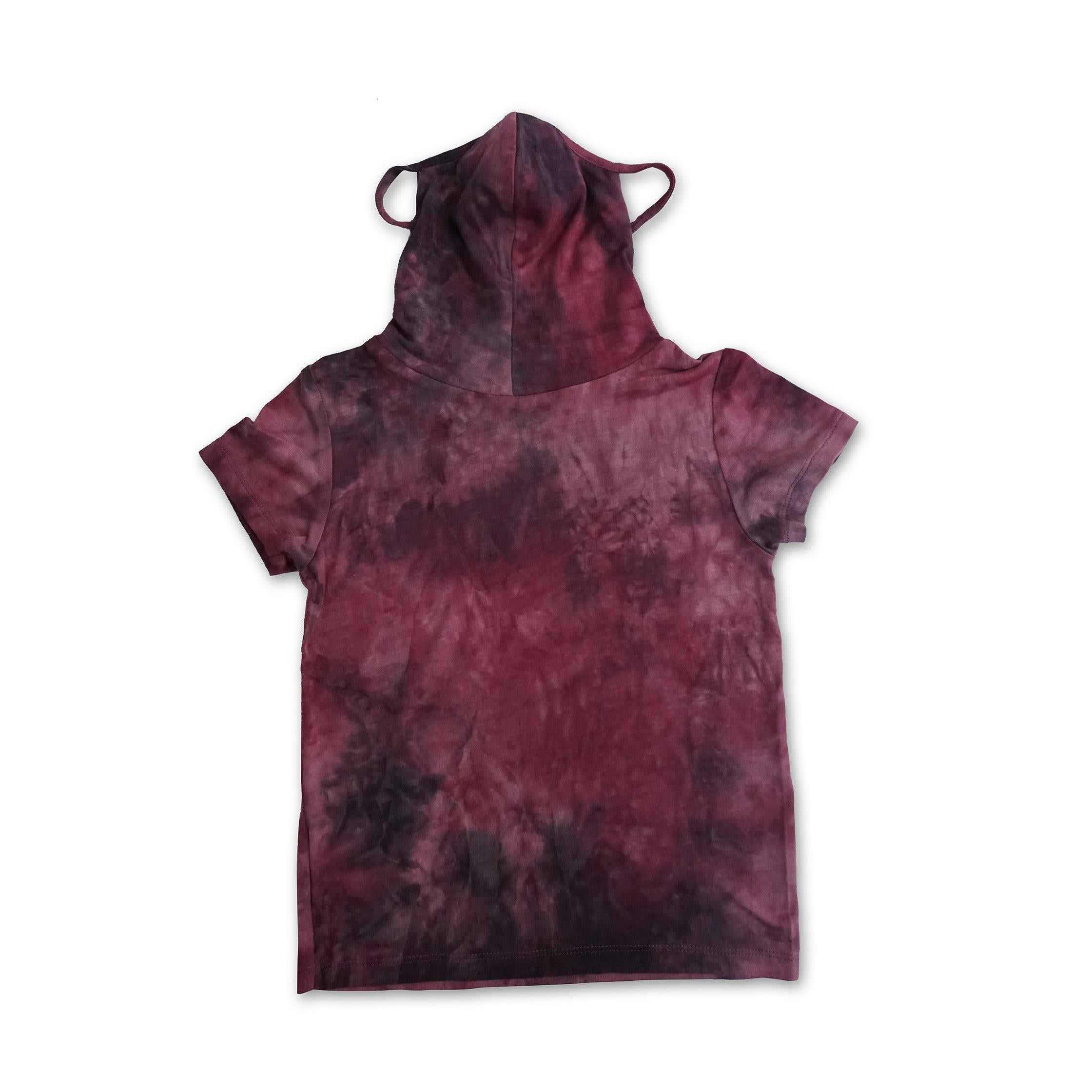 Kids Short Sleeve Pink Purple Tie-dye #6 Shmask™