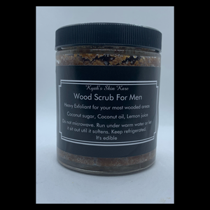 Wood Scrub For Men