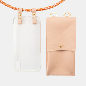 CROSSBODY PHONE CASE | COPPER + BAG