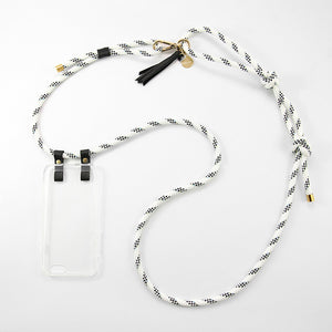 CROSSBODY PHONE CASE | WHITE