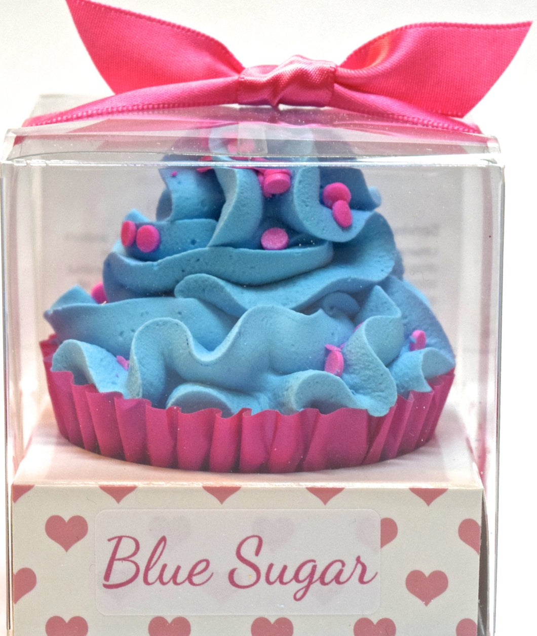 Blue Sugar Cupcake Bath Bomb