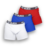Pro Black Men's Trunk (3 Pack - Mixed)