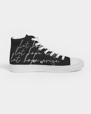 Let Us Worship Black Women's Hightop Shoe - theoriginals-designs