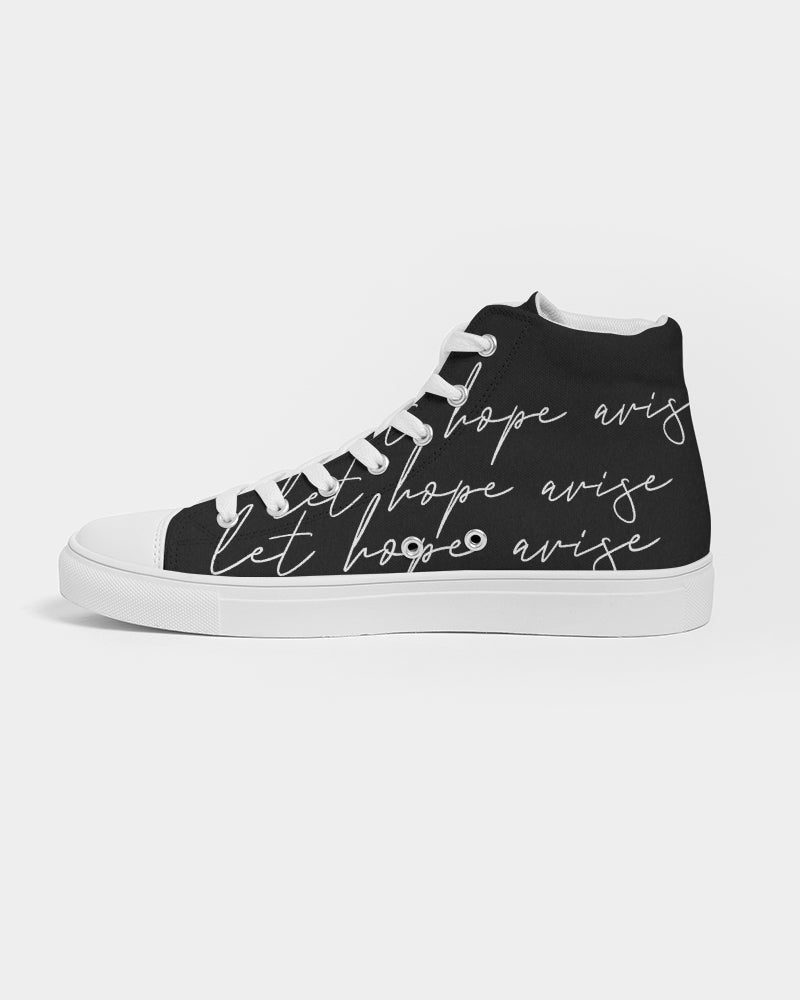 Let Us Worship Black Men's Hightop Shoe - theoriginals-designs