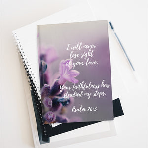Psalm 26:3 Journal