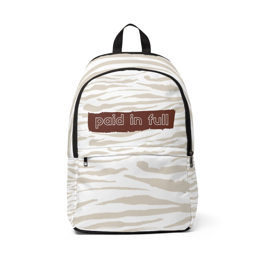 Paid in Full Backpack - theoriginals-designs