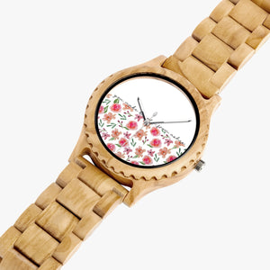 Natural Wooden Watch Flores - theoriginals-designs