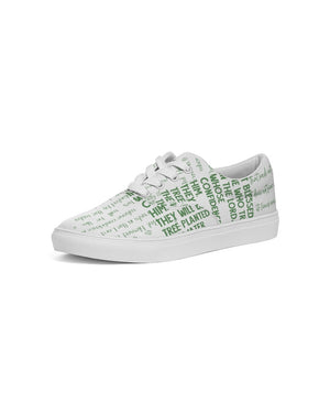 Green Blessing Men's Lace Up Canvas - theoriginals-designs