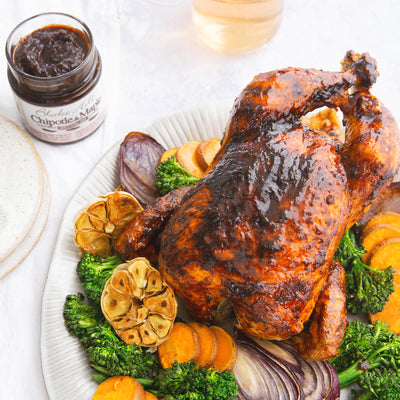 Chipotle Maple Roast Chicken