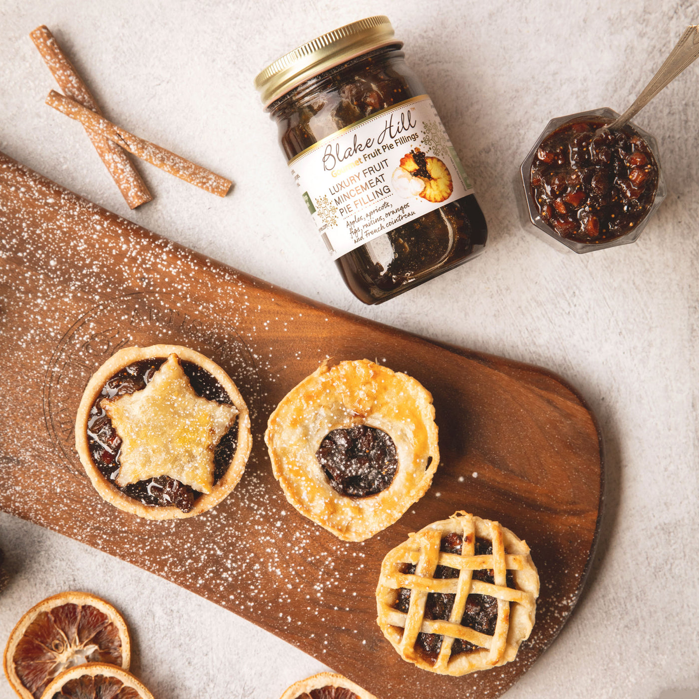 Luxury Fruit Mince Pie Holiday Tarts