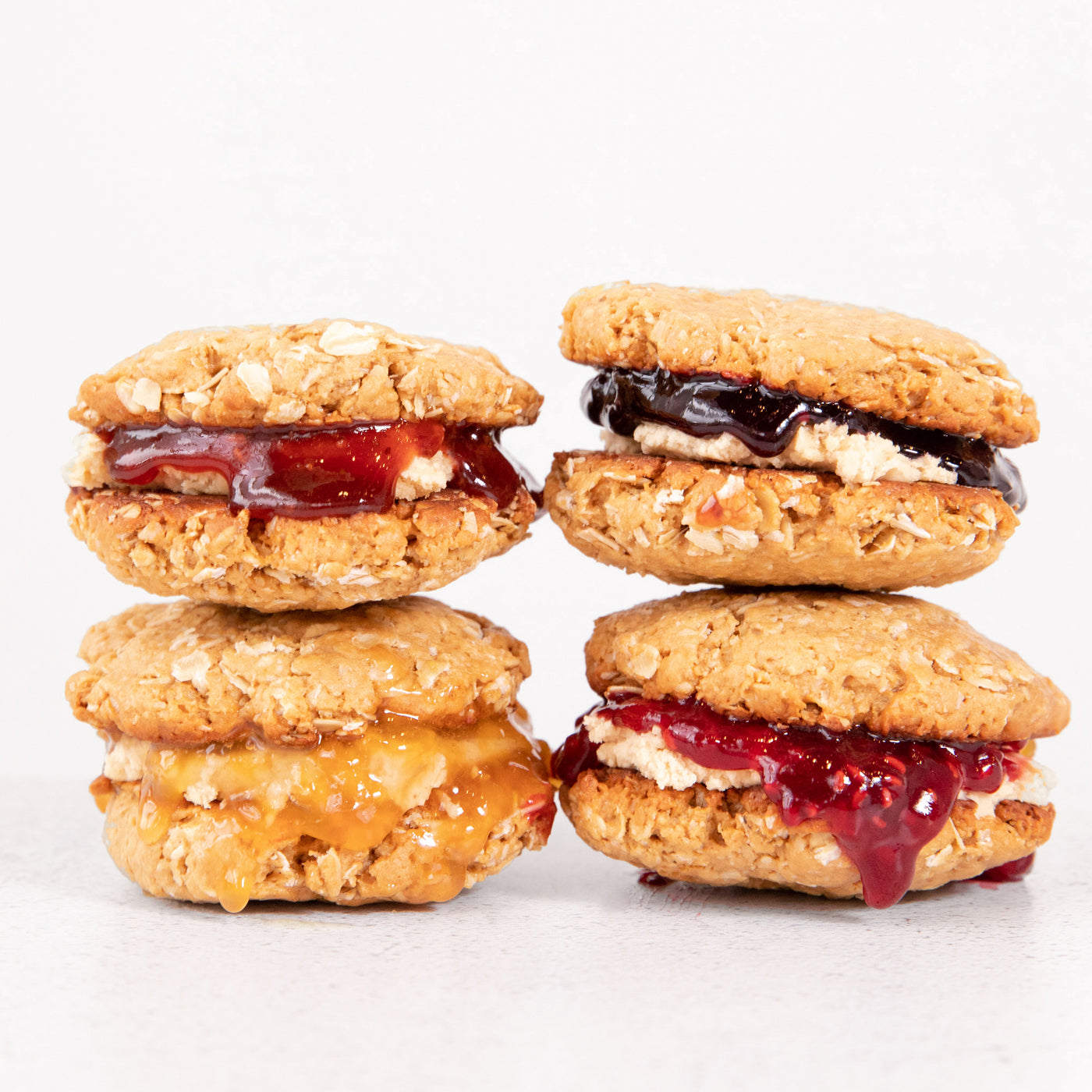 Flourless PB & Jam Cookies