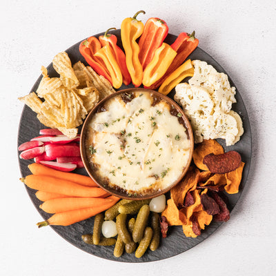 Savory Onion Confit & Willoughby Dip