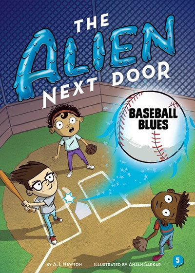 Alien Next Door #5 Baseball Blues