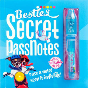 Besties Secret Passnotes