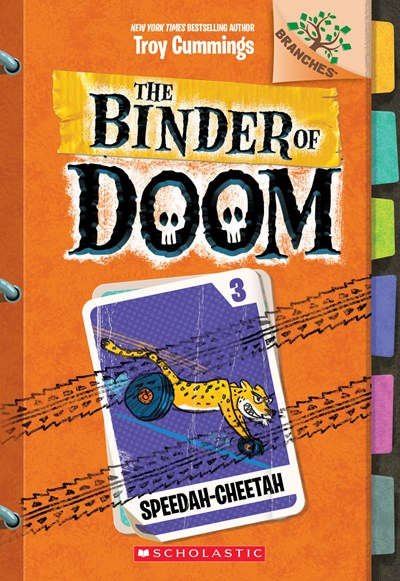 Binder of Doom #3: Speedah-Cheetah