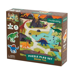 Dinosuar Park Puzzle Play Set