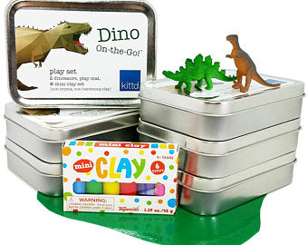 Dino On The Go Travel Playset
