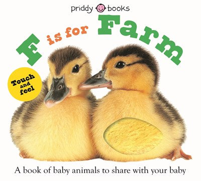 F is For Farm (Board Book)