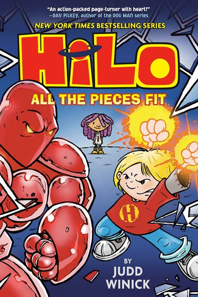 HiLo Book 6 :  All the Pieces Fit