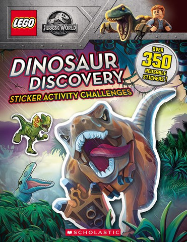 Lego Activity Book: Jurassic World: Dinosaur Discovery