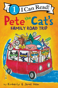Pete the Cat's Family Toad Trip
