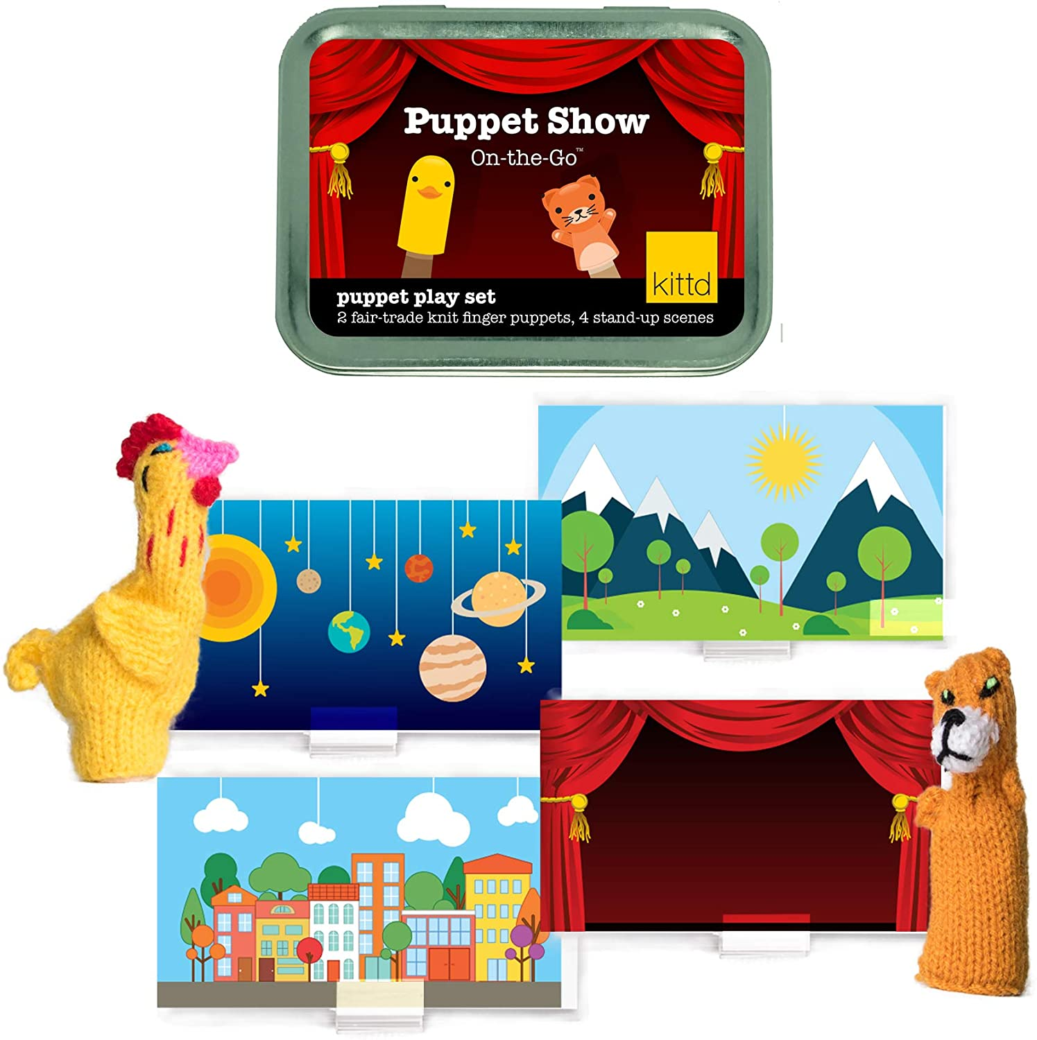 Puppet Show on the Go Play set