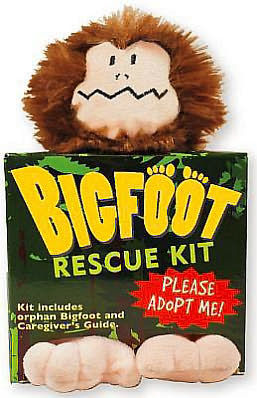 Hug Bigfoot Rescue Kit
