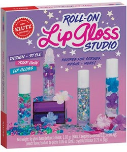 Klutz Roll-On Lip Gloss  Studio