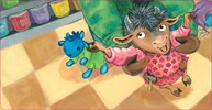 Nelly Gnu and Daddy Too (Board Book)