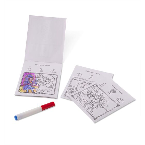 Color Blast: Princesses NO Mess Coloring Pad
