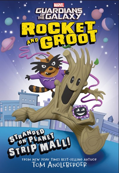 Rocket and Groot: Stranded on Planet Strip Mall