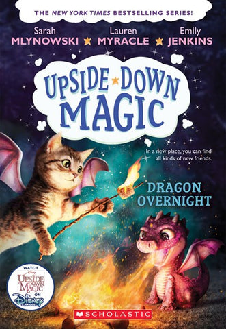 Upside-Down Magic #4 Dragon Overnight