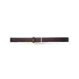 Dark Brown Calfskin Belt