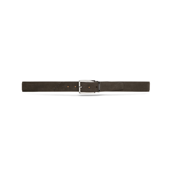 Dark Green suede belt