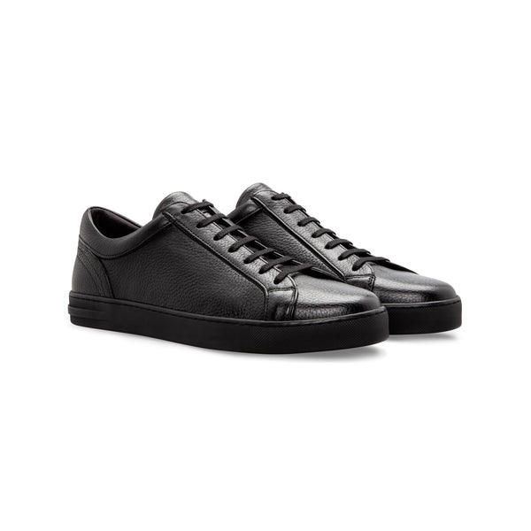 Black deerskin Sneakers