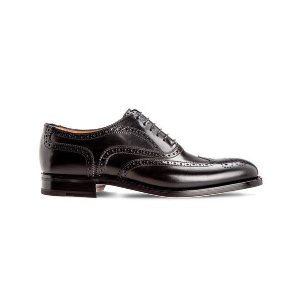 Black calfskin Oxford Luxury italian shoes