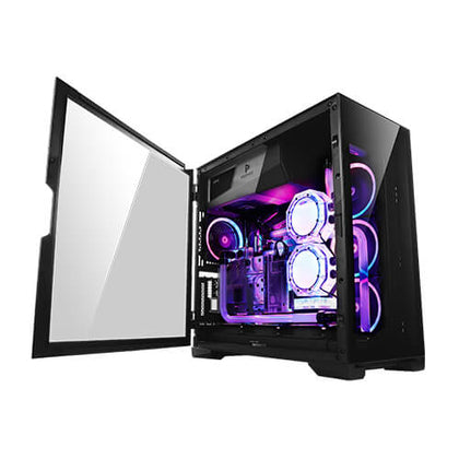 Antec P120 Crystal Tempered Glass  ATX, E-ATX, Powerful Heat Dissipation, VGA Holder, Horizontal and Vertical Scalability, Slide Panel, Gaming Case