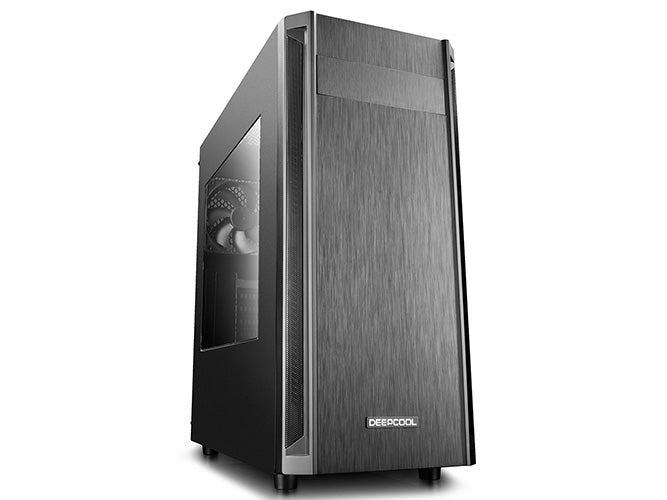 Deepcool D-Shield V2 ATX PC Case, Houses VGA Card Up To 370mm, 1xPre-Installed Rear Fan